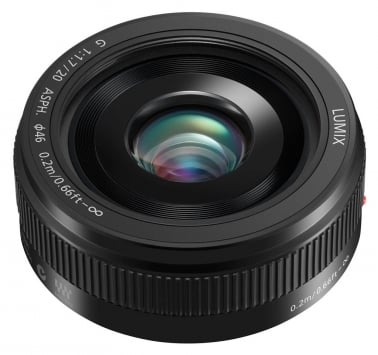 Panasonic Lumix G 20mm f/1.7 II Pancake 1