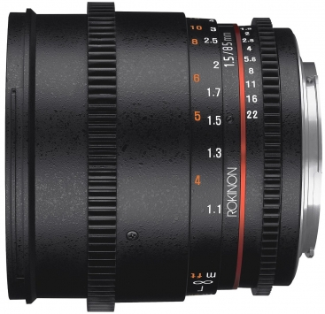 Rokinon 85mm T1.5 Cine DS 1