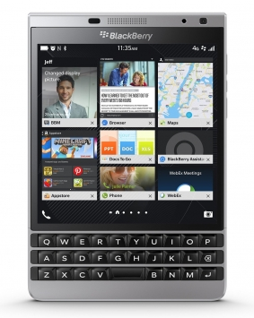 BlackBerry Passport Silver Edition 1