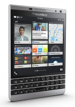 BlackBerry Passport Silver Edition 7