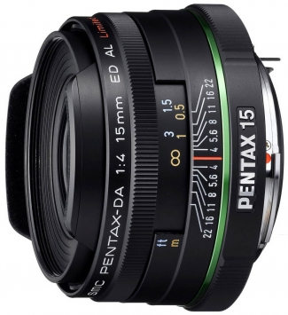 Pentax SMC DA 15 mm f/4 ED AL Limited 3