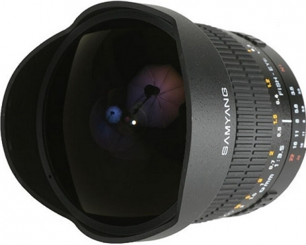Samyang 8mm f/3.5 UMC Fish Eye CS II 1