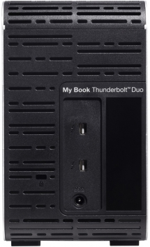 WD My Book Thunderbolt Duo 4