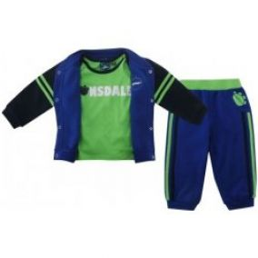Lonsdale Three Piece Baby Jogger Set Baby Boys