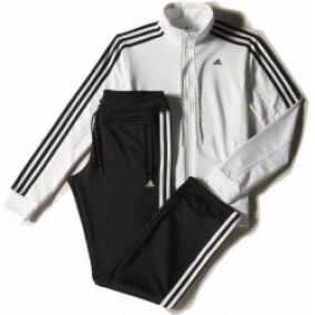 Adidas Essential 3 Stripes Tracksuit 2XS