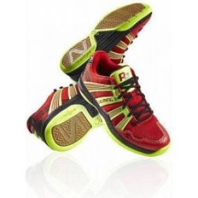 Salming Race R3 JR 3.0 Red/Safety Yellow halová