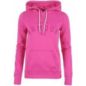 Under Armour Rival Storm Hoody Ladies Pink