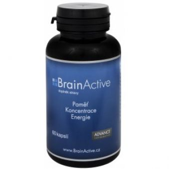 Advance nutraceutics BrainActive 60 kapslí AKCE +