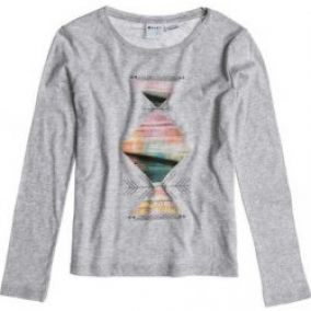 Triko Roxy Rox On 001 sjmh heather grey 2014 15
