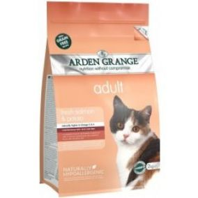 Arden Grange Cat Adult fresh salmon+brambory 2 kg