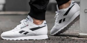 Reebok Classic Leather Pop White W AKCIA