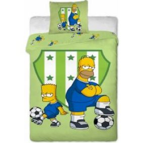 Jerry Fabrics Obliečky Simpsons Bart a Homer