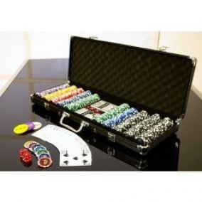 OEM D00499 Poker set 500 ks 5-1000 OCEAN BLACK