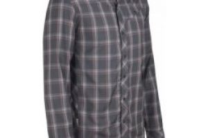 Icebreaker Mens Departure LS Shirt Plaid Monsoon