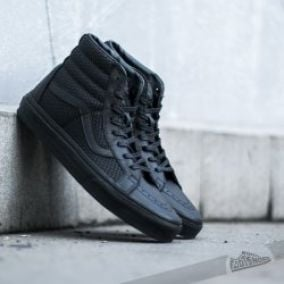 Vans Sk8-Hi Reissue Snake Leather Black
