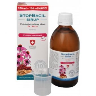 Simply You StopBacil sirup Dr. Weiss 200 ml + 100