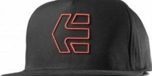 ETNIES-FA16 Icon 7 Snapback Hat 595 BLACK/RED