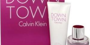 Calvin Klein Downtown EdP 90 ml + telové mlieko