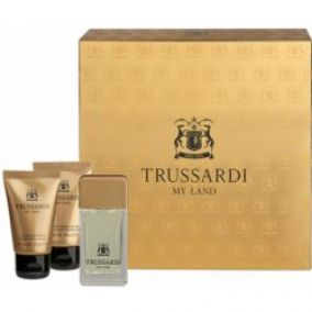 Trussardi My Land EdT 30 ml + sprchový gél 30 ml +