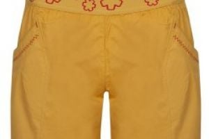 Ocun pantera shorts women -Golden yellow
