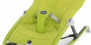 CHICCO Kresielko Pocket Relax green
