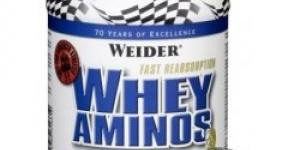 WEIDER Whey Aminos Caps 300 tabliet