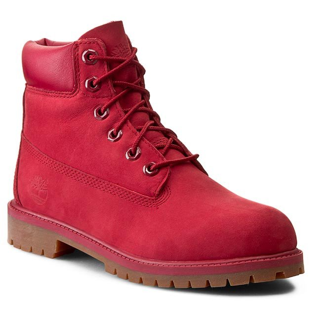 Outdoorová obuv TIMBERLAND - 6 In Premium Wp Boot A13HV/TB0A13HV6261 Red