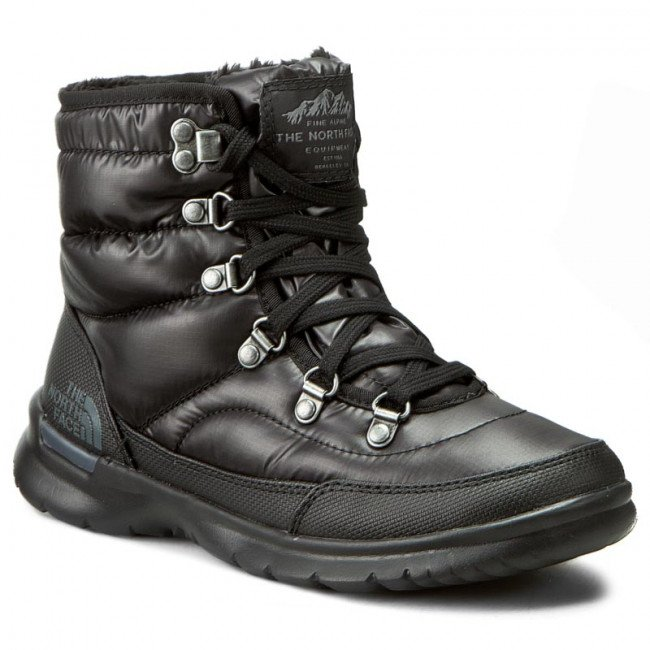 Snehule THE NORTH FACE - Thermoball Lace II T92T5LNSW Shiny TNF Black/Iron Gate Grey
