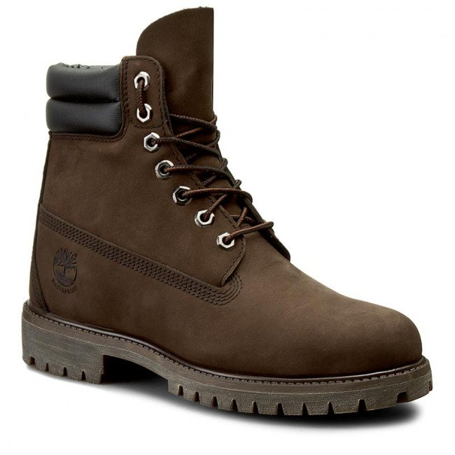 Outdoorová obuv TIMBERLAND - 6 In Boot 73543 Dk Brown N Brow