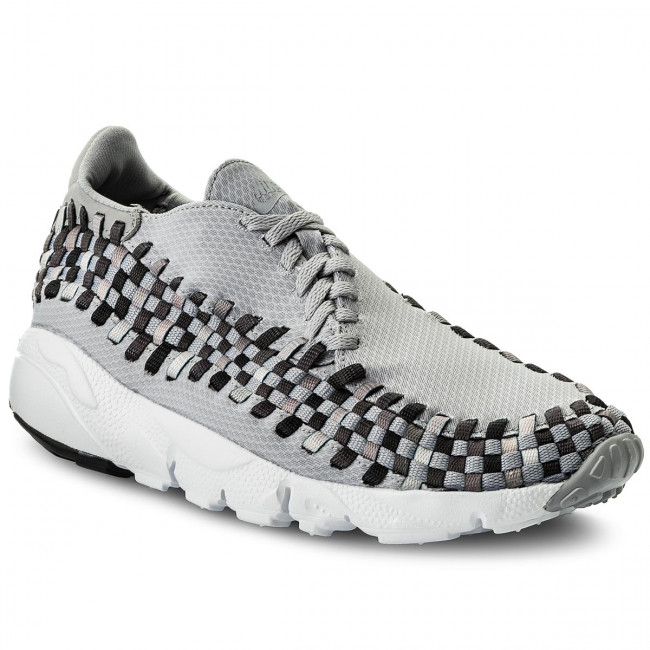 Topánky NIKE - Air Footscape Woven Nm 875797 004 Wolf Grey/Black/Dark Grey