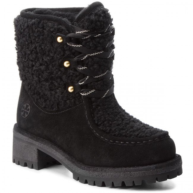 Outdoorová obuv TORY BURCH - Meadow Boot 49197 Perfect Black/Perfect Black 004