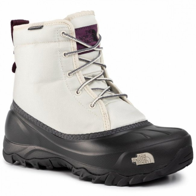 Snehule THE NORTH FACE - Tsumoru Boot T93MKTGSW Bone White/Tnf Black