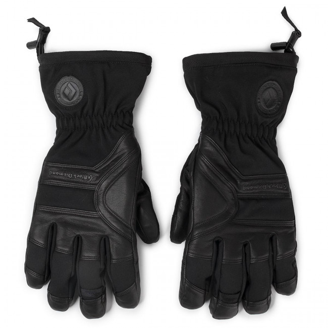 Lyžiarske rukavice BLACK DIAMOND - Patrol Gloves BD801419 Blak