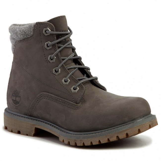 Outdoorová obuv TIMBERLAND - Waterville 6 In Waterproof Boot TB0A23JV0331 Medium Grey Nubuck