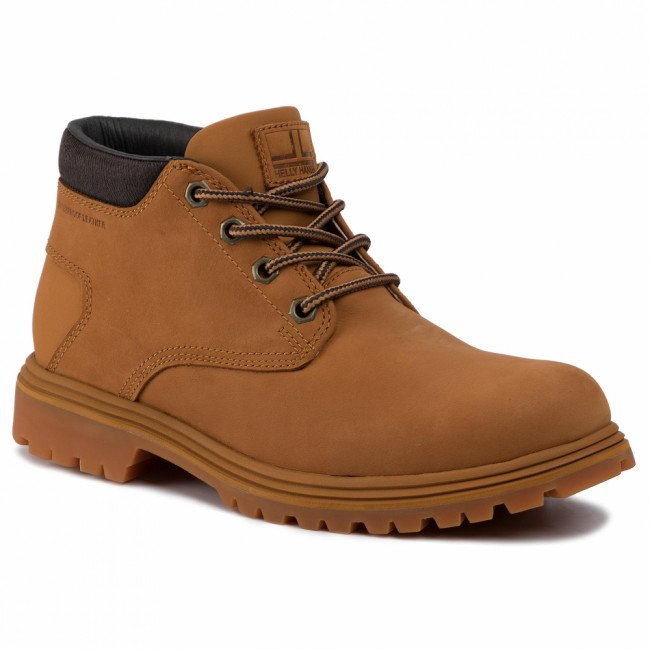 Outdoorová obuv HELLY HANSEN - Saddleback Chukka 115-26.726 Honey Wheat/Espresso/Socker Gum