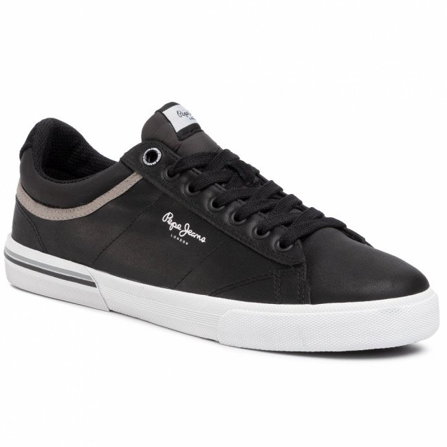 Sneakersy PEPE JEANS - North 19 PMS30560 Black 999