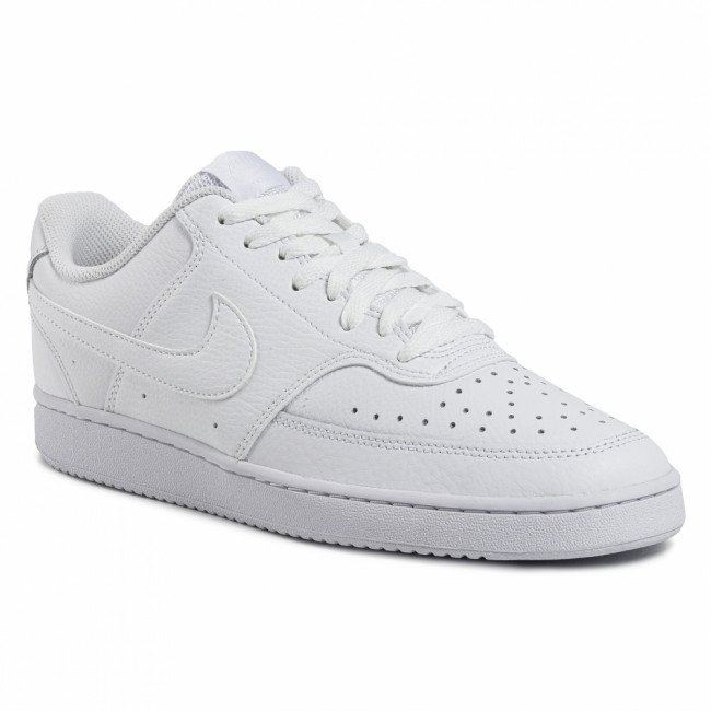 Topánky NIKE - Court Vision Lo CD5463 100 White/White/White