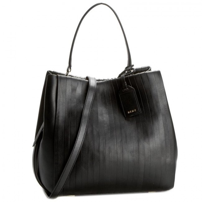 Kabelka DKNY - Pleated Bucket Bag R361250704  Black 009