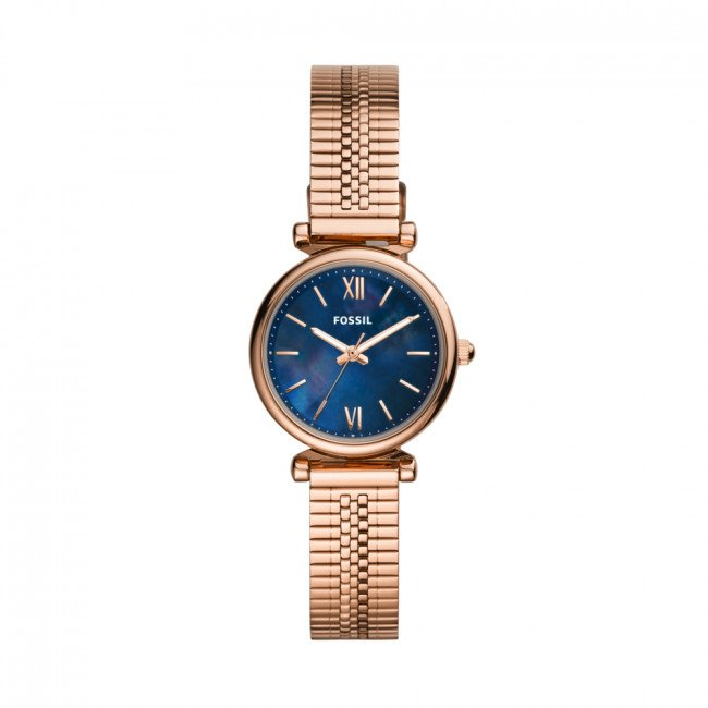 Hodinky FOSSIL - Carlie Mini ES4693  Gold/Gold
