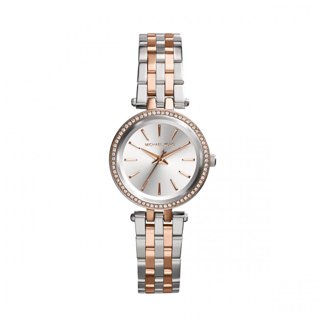 Hodinky MICHAEL KORS - Petite Darci MK3298 3T Silver/Rose/Gold/Rose Gold