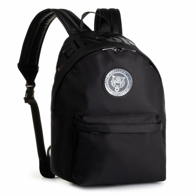 Ruksak PLEIN SPORT - Backpack Statement F19A MBA0766 STE003N Black/Black 0202