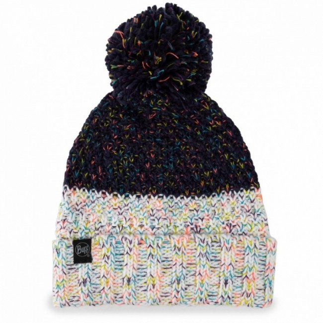 Čiapka BUFF - Knitted & Fleece Hat Janna 117851.779.10.00 Night Blue