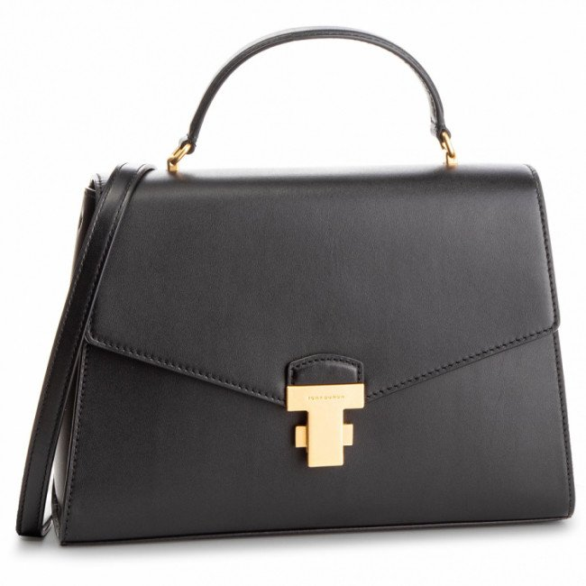 Kabelka TORY BURCH - Juliette Top-Handle Satchel 51022 Black 001
