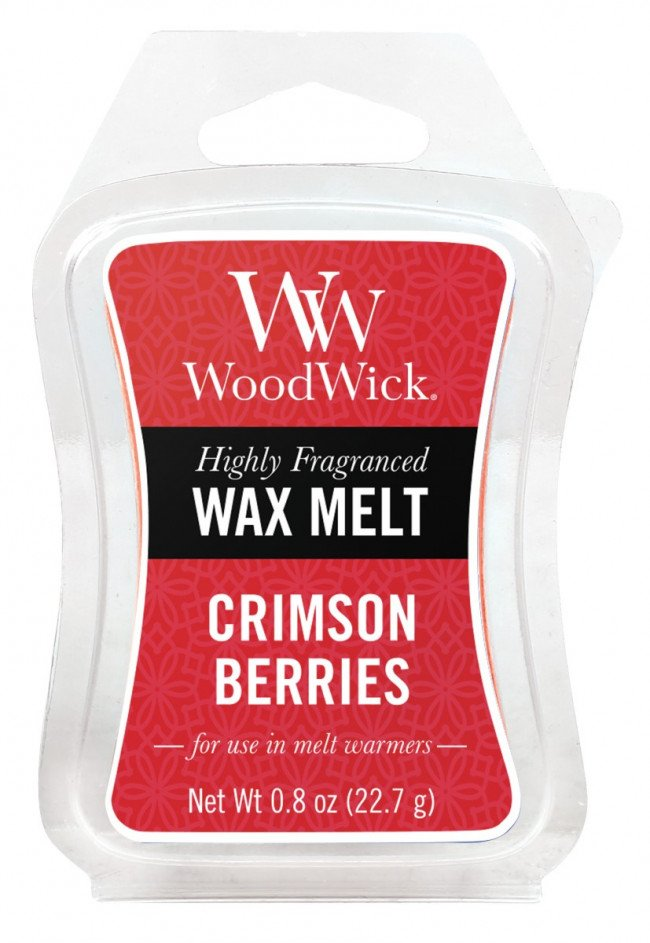 WoodWick vonný vosk do aromalampy Crimson Berries