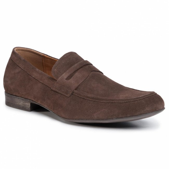Poltopánky LASOCKI FOR MEN - MB-NAXOS-09 Chocolate Brown