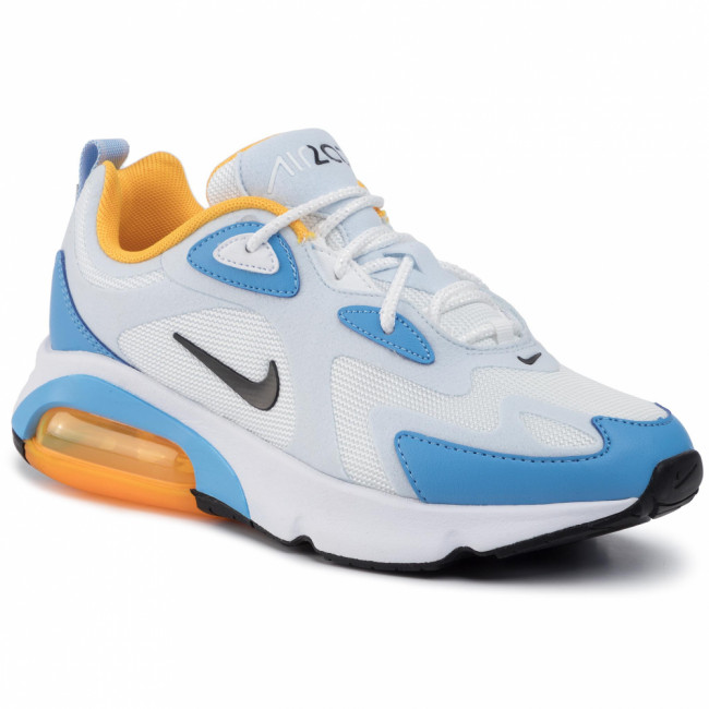 Topánky NIKE - Air Max 200 AT6175 101 White/Black/Half Blue