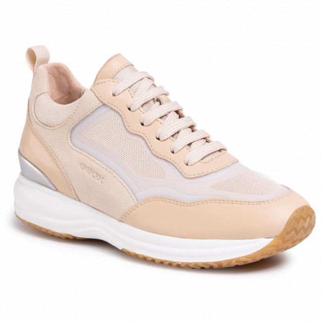 Sneakersy GEOX - D Happy A D0262A 08514 C5ZH6 Sand/Lt Taupe
