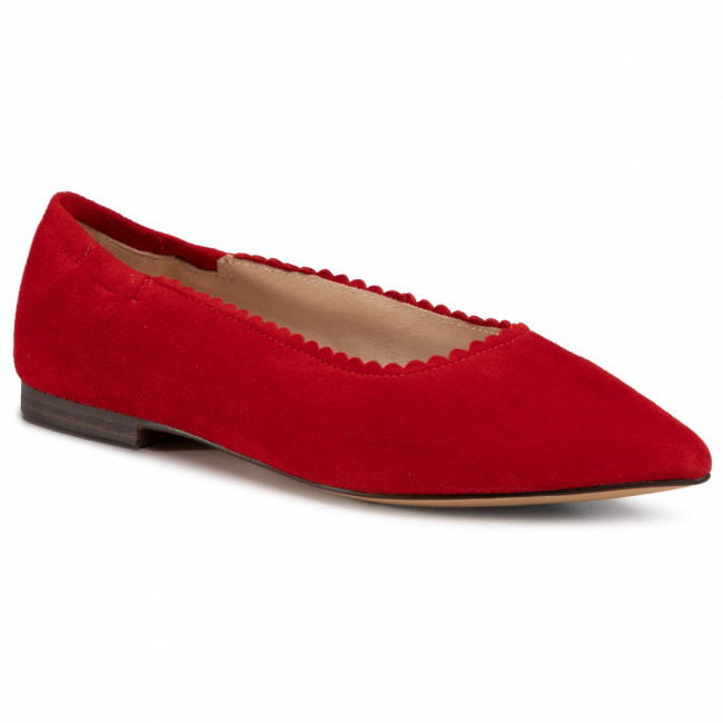 Poltopánky CAPRICE - 9-22108-24 Red Suede 524