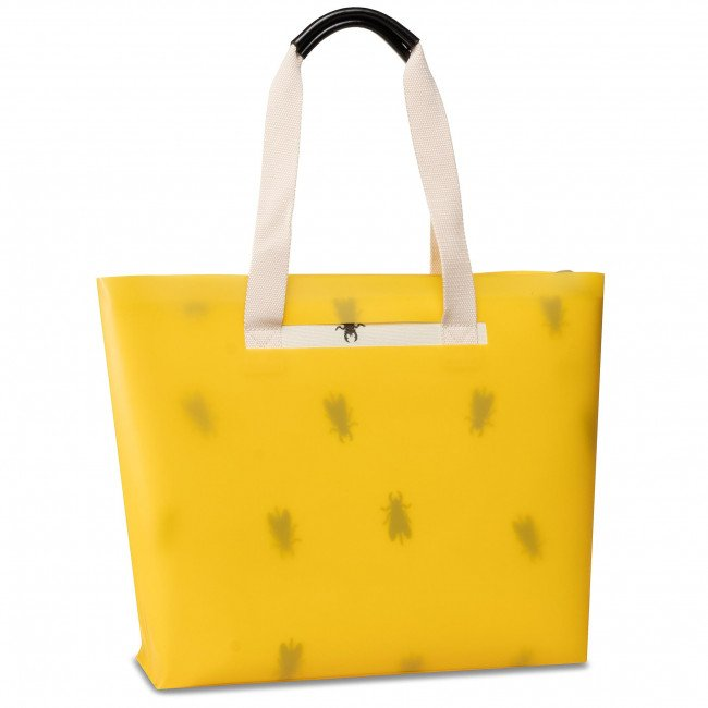 Kabelka FLY LONDON - Zime P974691000 Yellow/Offwhite