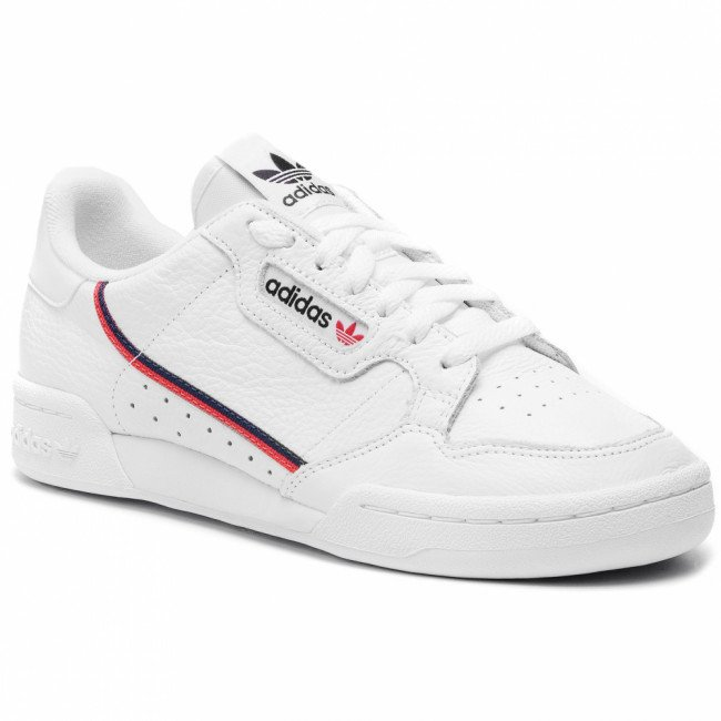 Topánky adidas - Continental 80 G27706 Ftwwht/Scarle/Conavy